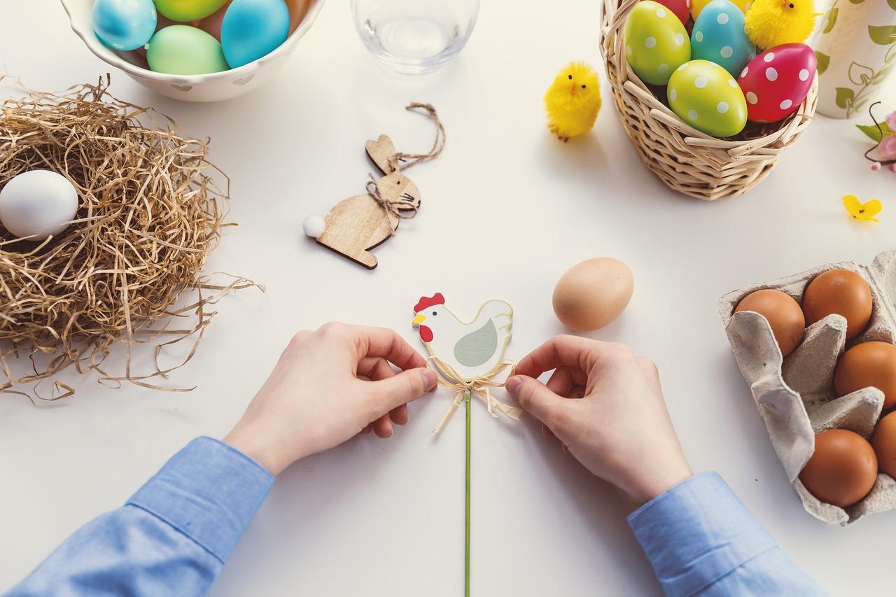 activités à faire pour les enfants à la maison à Pâques